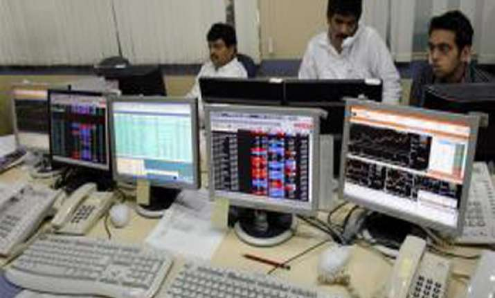 sensex down 21 pts fails to sustain early gains
