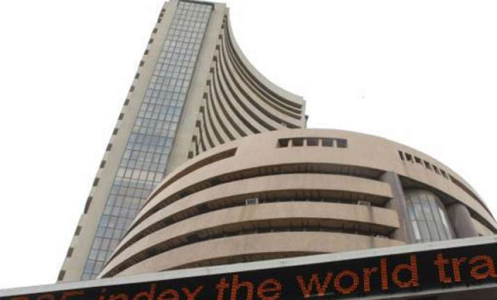 sensex ends 85 points up in volatile trade