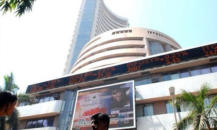 sensex opens new year with 63 pts gain in thin trade