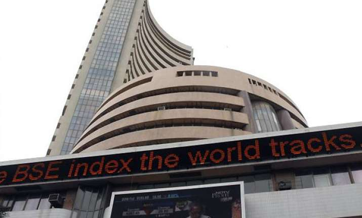 sensex tanks 364 points rupee down by 13 paise on mauritius