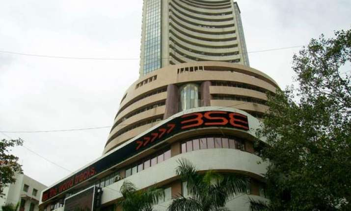 sensex down 204 points to new low