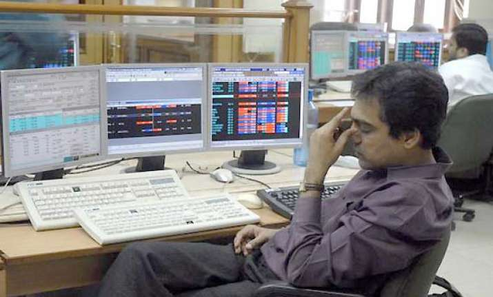 sensex falls 57 points in early trade