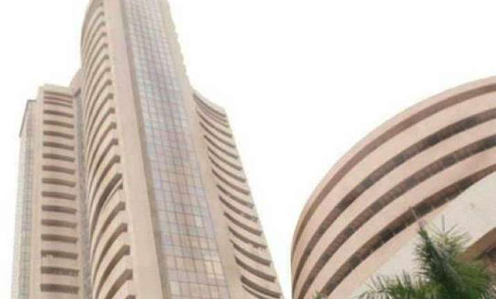sensex clocks year s biggest single day gain of 439 points