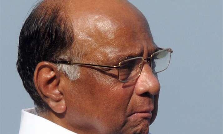 sharad pawar asks pm to lift ban on cotton exports