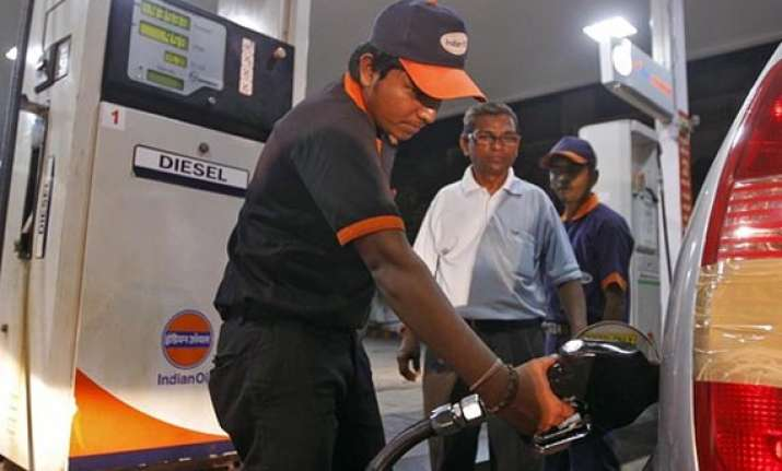 shares of oil marketing companies nosedive as rupee