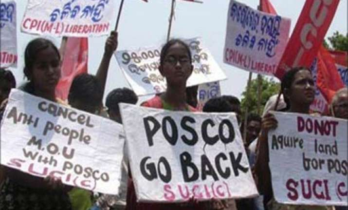 six lakh trees to be cut for posco project