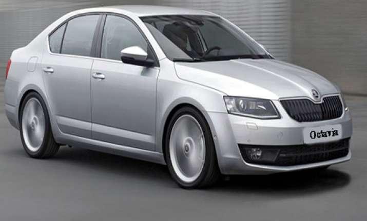 skoda reintroduces octavia luxury sedan