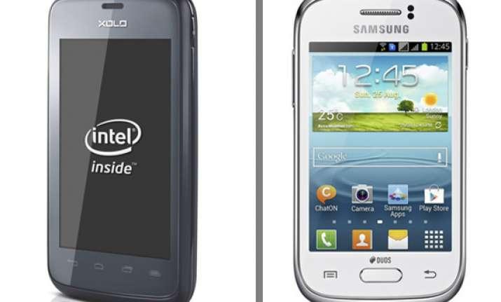 comparison samsung galaxy young vs xolo x500