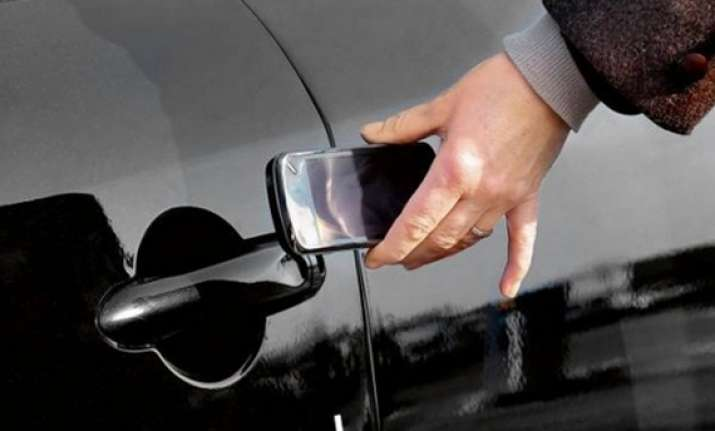 smartphone to soon double up as car keys