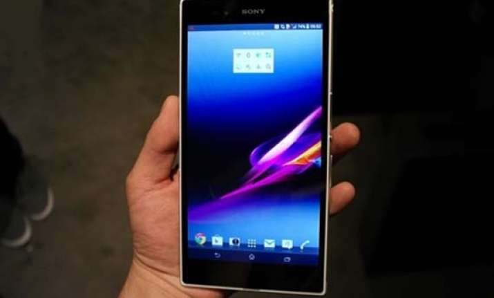 sony india launches xperia z ultra phablet at rs 46 990