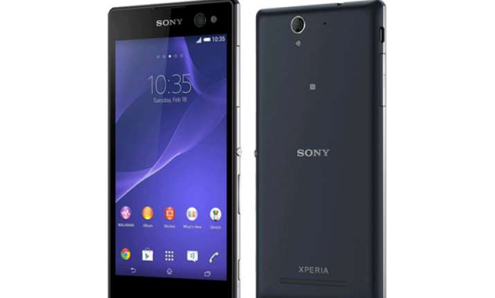 sony xperia c3 selfie smartphone launched at rs 23990