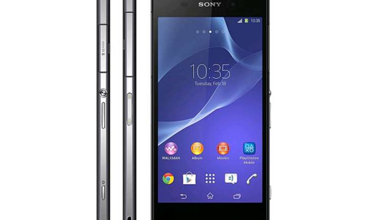 sony xperia z2 with snapdragon 801 launched at rs 49 990