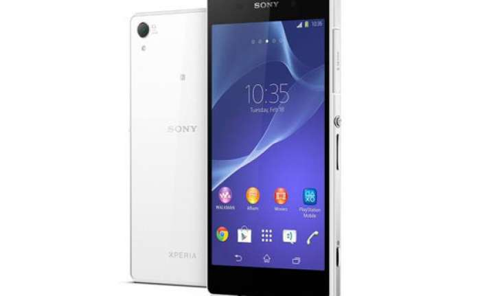 sony launches xperia z2 with 5.2 inch display 4k ultra hd