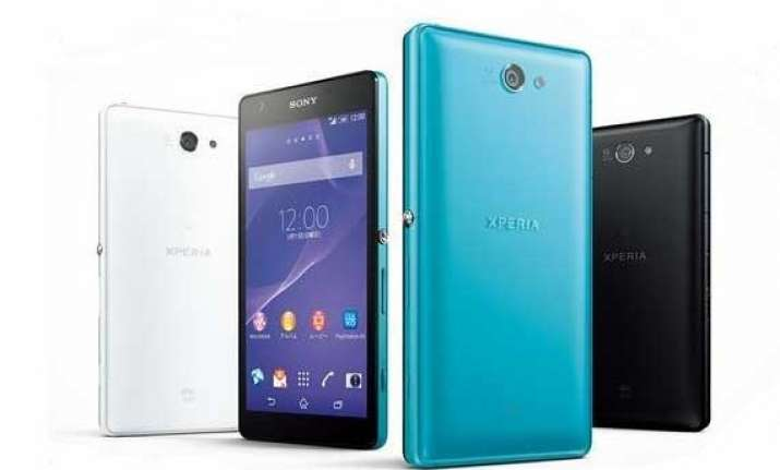 sony launches xperia zl2 in japan