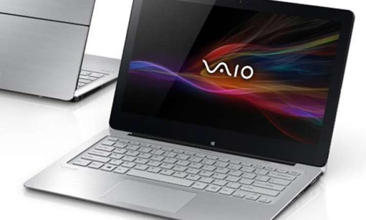 sony warns of battery issue in some vaio laptops