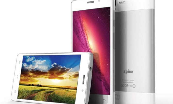 spice launches stellar 520 and stellar 526 with android 4.4
