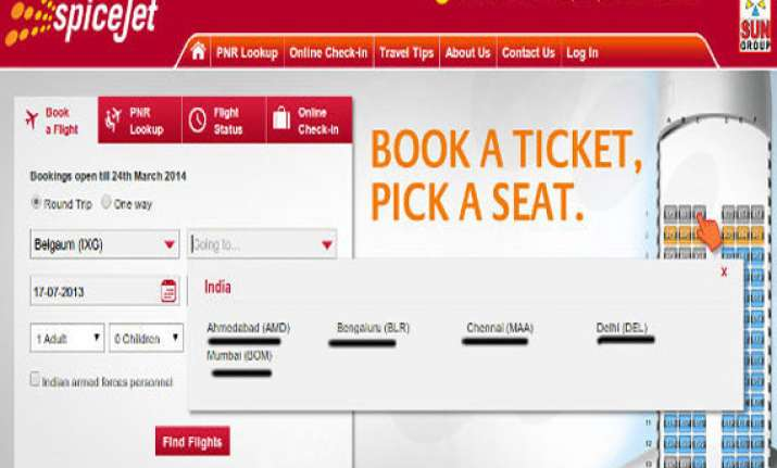 spicejet website grounded after mega offer of re 1 a ticket