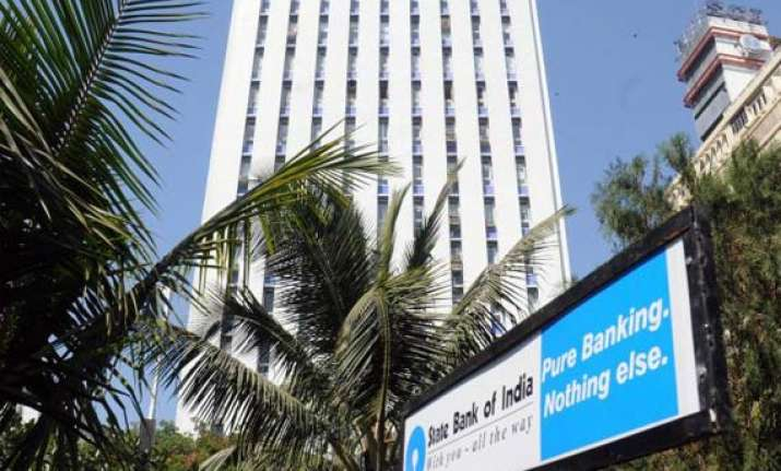 state bank of india net drops 46 on loan provisions