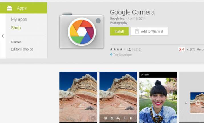 stock android camera app now available on google play