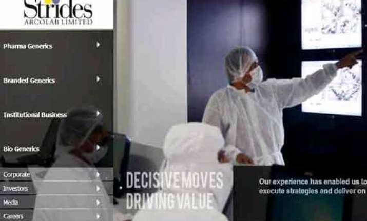 strides arcolab invests in oncobiologics inc