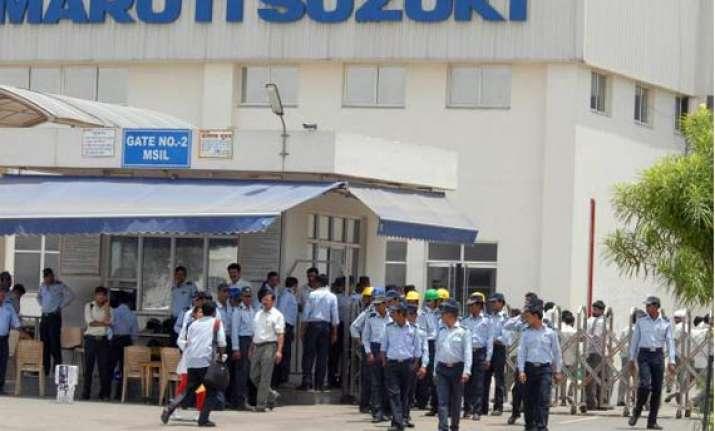 strike at maruti s manesar unit enters sixth day