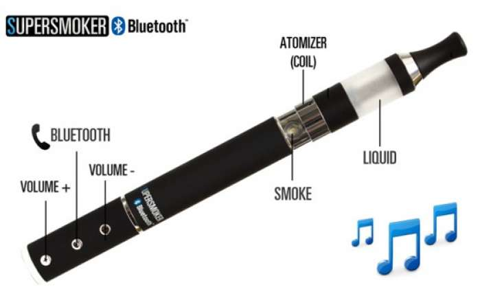 supersmoker bluetooth e cigarette lets users receive calls