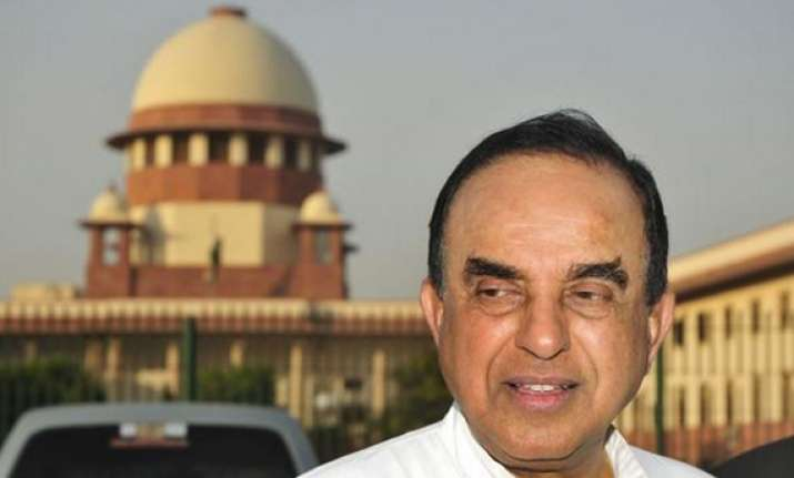 supreme court asks subramanian swamy to move hc on his plea