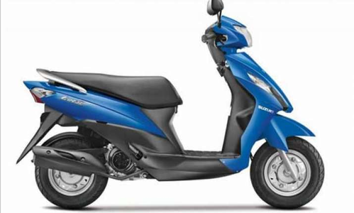 suzuki lets scooter bookings commence