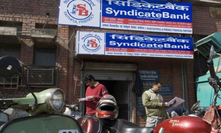 syndicate bank unveils 5 products for msmes