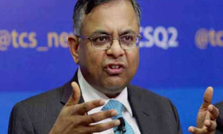 tcs beats forecasts with 45 jump in q1 net at rs 5568 cr
