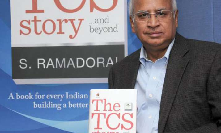 tcs was often benchmarked against infosys nearly a decade