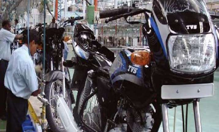 tvs motor company cuts two wheeler prices by up to rs 3 500