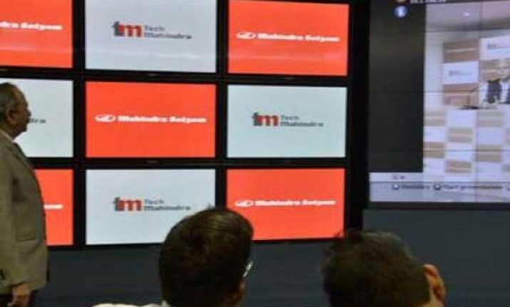 tech mahindra profit rises over 46 in sept quarter