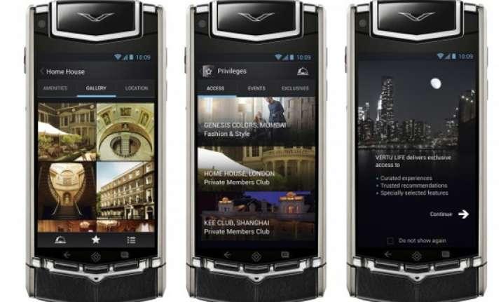 is vertu ti the costliest smartphone in india