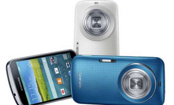samsung launches high end galaxy k zoom smartphone with 10x
