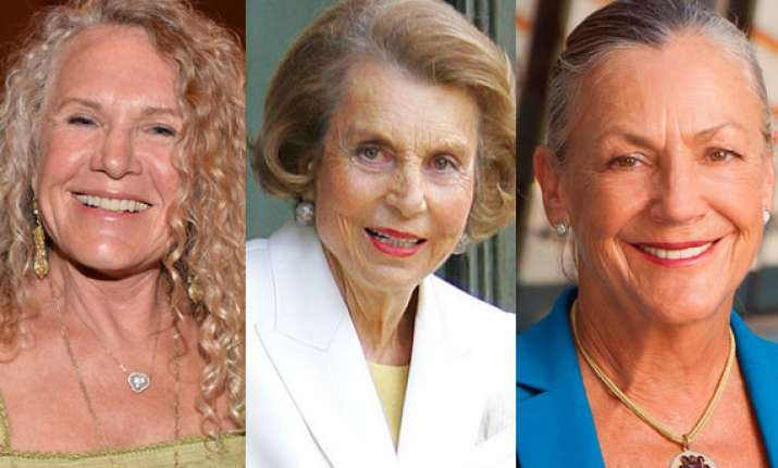 the world s richest women for 2014