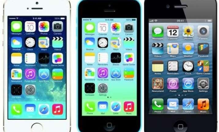 top 5 apple smartphones april 2014
