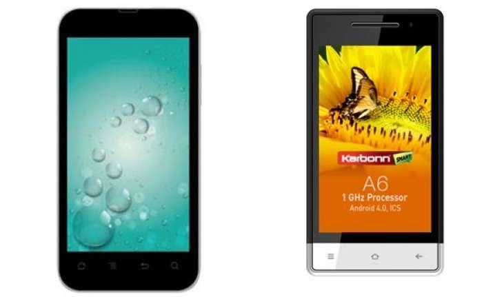 top 10 karbonn smartphones in india