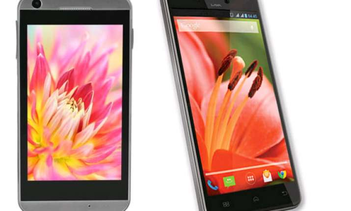 top 10 lava smartphones in india april 2014