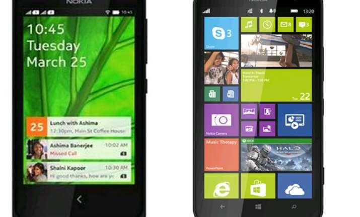 top 10 nokia smartphones april 2014