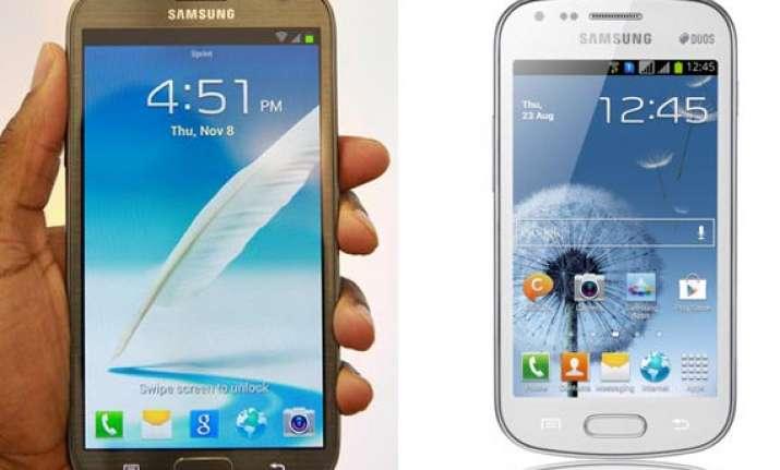 top 10 samsung smartphones in india