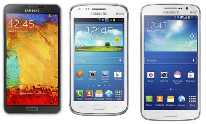 top 15 samsung smartphones for february 2014