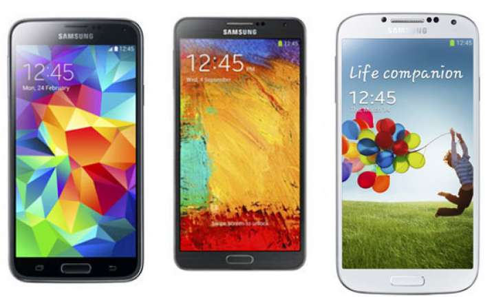 top 10 samsung smartphones for march 2014