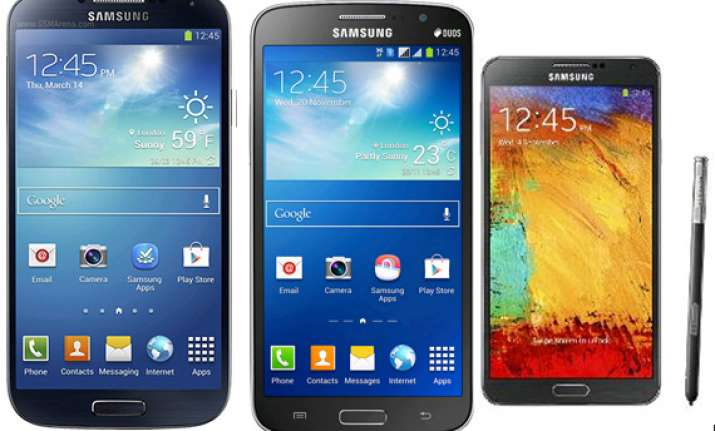 top 15 samsung smartphones april 2014