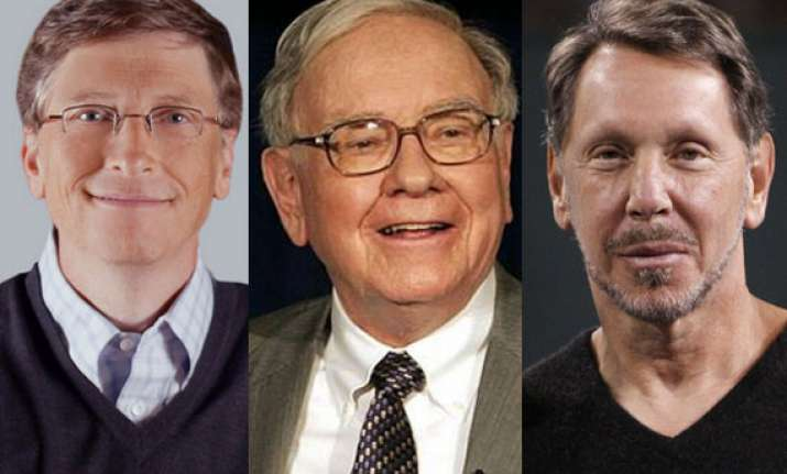 top 10 richest americans on earth