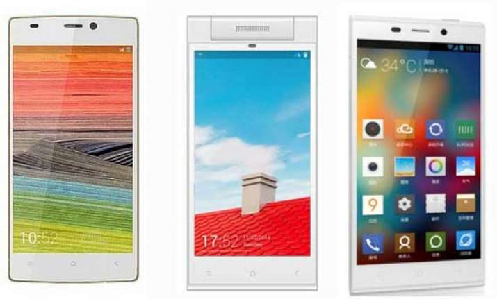 top 15 smartphones by gionee may 2014