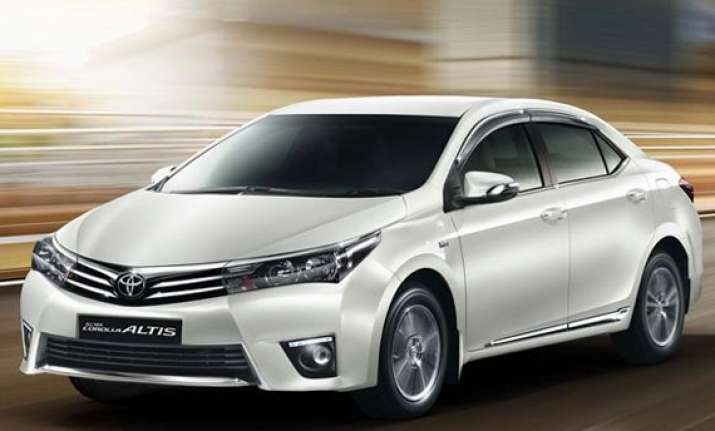 toyota launches all new corolla altis priced at rs 11.99