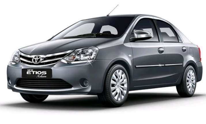 toyota launches new etios xclusive limited edition starting