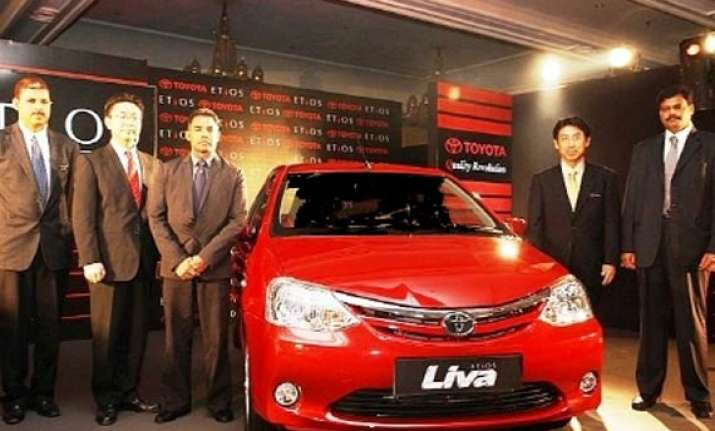 toyota etios liva to be launched on june 27 in india