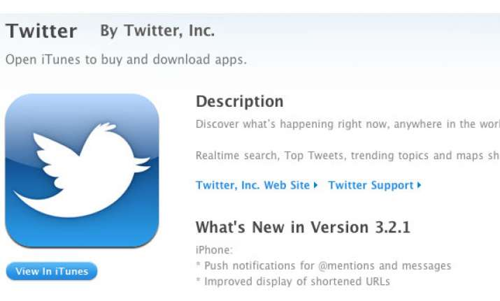 twitter.com to get real time notifications